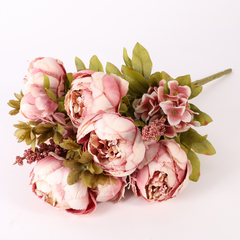 Wedding party decor artificial bridal bouquet peony silk flowers wedding party decor artificial bridal bouquet peony silk mightylinksfo